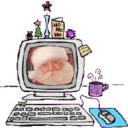 Write a letter to Santa Claus?  Yes kids its true!  That jolly old elf wants to hear about you!  Merry Christmas!