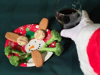 photo of treats for Santa