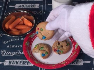 photo of treats for Santa